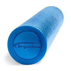 Premium Foam Roller & Bonus E-Guide with Top Foam Rolling Exercises - Black Round High Density Professional Massage Roller Is 6 x 36 and Made in USA - Buy Now to Alleviate Pain in All Body Areas