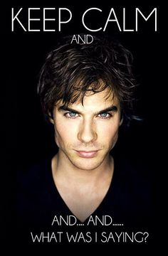 Oh... man... (I've no idea who this is, although apparently he's from The Vampire Diaries. Feel free to enlighten me.)