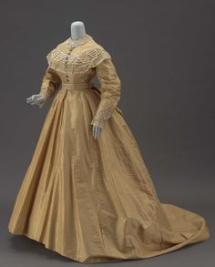 Dress 1860s The Museum of Fine Arts, Boston