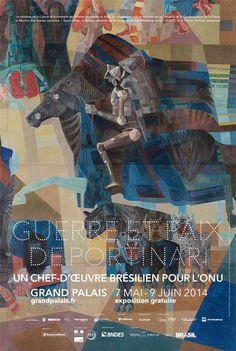 Guerra e Paz de Portinari em exposição no Grand Palais - Expresso Paris