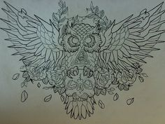 Совы Chest Tattoo Outline, Chest Tattoo Drawings, Tattoo Sketch Art, Eagle Chest Tattoo, Torso Tattoos, Tattoo Flash Art, Evil Tattoos, Mommy Tattoos, Animal Tattoos