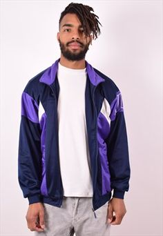 2ed9d8867900 Nike Mens Vintage Tracksuit Top Jacket Large Multi 90s Vintage Tracksuit