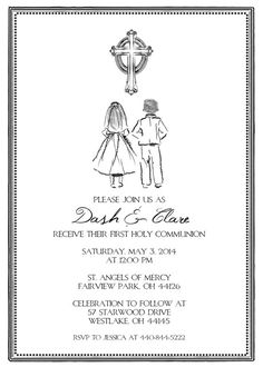 15 Best Invitations Images First Holy Communion First Communion