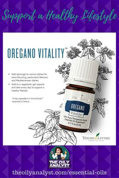Oregano Vitality! Google it! It's awesome! Have you tried it? If not, you need to check out the benefits of this oil! | Essential Oils | Young Living | Chemical Free | Green Living | All Natural | Seed to Seal