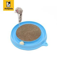 Buy  KIMHOME PET Bergan Turbo Scratcher Cat Toy With Mouse Handmade Cats Kitten Scratcher Training Toy Interactive Cat Play Ball Toys ...Click link for Buy