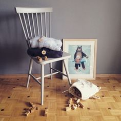 """""""Wooden story room  photo by @agafleischer  #woodenstory #woodenblocks #naturalblocks #cottonsack #ecotoy #ecokids #ecobaby #handcrafted…"""""""