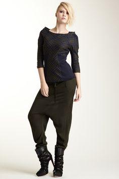 L.A.M.B.  Harem Pull-On Sweater Pant