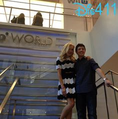 Photo: Bradley Steven Perry With Peyton List At Nintendo World May 17, 2014