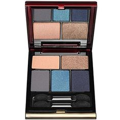 Kevyn Aucoin Essential Eye Shadow Set – The Defining Navy Palette - Makeup Products Best Eyeshadow Set, Metallic Eyeshadow, Colorful Eyeshadow, Eyeshadow Looks, Eyeshadow Palette, Makeup Trends, Makeup Tips, Eye Makeup, Colors That Compliment Blue