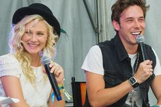 Literally, obsessed with every song they sing. Sam Palladio and Clare Bowen from Nashville