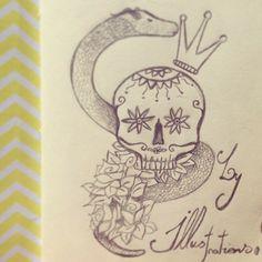 Skull #sketch #ilustra
