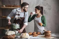 """Protect your bakery business with quality coverage from Southern States. Check out our recently published page on everything you """"knead"""" to know about bakery insurance. Life And Health Insurance, Bakery Business, Home Bakery, Day Drinking, Coffee Drinks, Make It Simple, Apron, Cheer, Baking"""