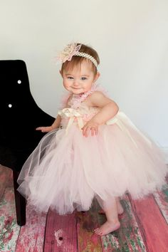 not a very cool and elegant tutu but this little girl made it seem elegant and cute :)