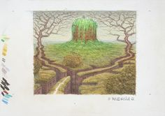 Jacek Yerka - Art Collection: Rozdroża