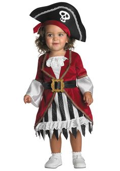 little girl halloween costume | ... Toddler Costume Ideas Historical Costumes Infant Girl Pirate Costume