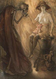 Le Baisemain (1916) - Jan Frans De Boever