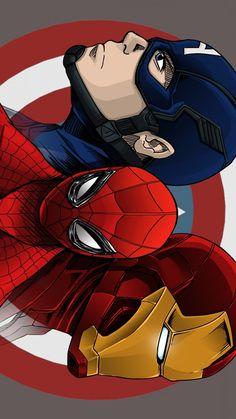 Avengers HD Mobile Wallpaper - Best of Wallpapers for Andriod and ios Marvel Avengers, Marvel Comics, Marvel Art, Marvel Heroes, Avengers Texts, Marvel Paintings, Iron Man Art, Superhero Poster, Avengers Poster