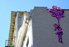 lots of great yarn bomb tags/installations