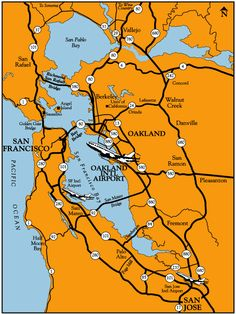 Oakland International Airport: Regional Map