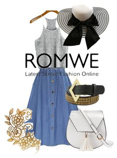 """Romwe contest"" by goldenttt ❤ liked on Polyvore featuring WithChic and Yoki"