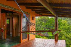 Top Villa hammock at Tranquilo Lodge Drake Bay, Osa Peninsula Costa Rica #fishing #travel #vacation
