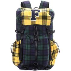 b8cf31dba9 Fenty by Rihanna Hike Plaid Backpack ( 405) ❤ liked on Polyvore featuring  bags