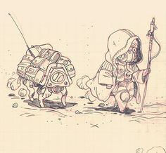 Same space stuffs again. When i have freetime, i can only draw theses 2 guys and spaceships.