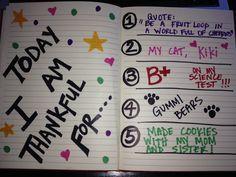 gratitude diary - Google Search