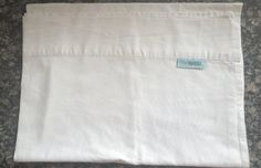 White Cot Sheet - 100% Pure Cotton - Vintage Linen by TheBusyTipsyGipsy on Etsy