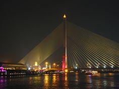 Rama 8 Bridge @Bangkok
