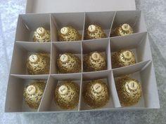 Nürnberger Festschmuck!Neu!12 teilig!Neu!Christbaum Glocken!GOLD!