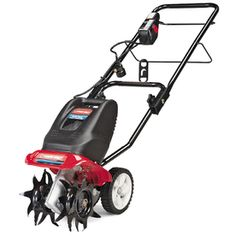 "Troy-Bilt 10"" 6.5-Amp Electric Cultivator for my small garden"