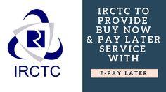 IRCTC Buy Now