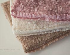 Newborn Ruffle Lace Wrap, Newborn Photo Prop, Baby Girl Ruffle Wrap, Newborn Stretch Lace Wrap, RTS