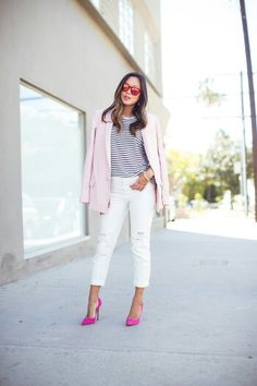 Pink and stripes tomado de song of style