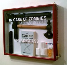 Zombie kit :) for Eric's bday or Father's Day gift!!