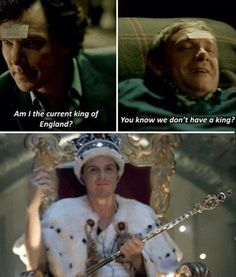 When there was but one queen bitch. | 27 Times The Sherlock Fandom Won Tumblr