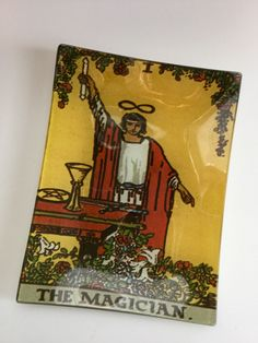 A personal favorite from my Etsy shop https://www.etsy.com/listing/262414432/tarot-tray