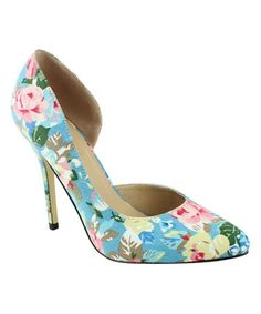 Look what I found on #zulily! Blue Melody Pump by Mi.iM #zulilyfinds