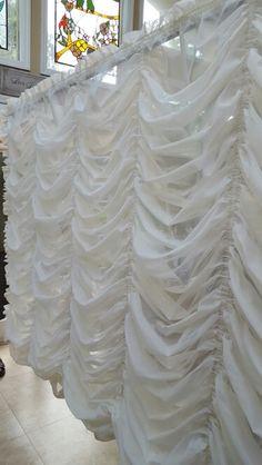 Austrian Curtain Wave Swag Lycra OR velvet 10/'W x 10/'H, 20/'W x 10/'H