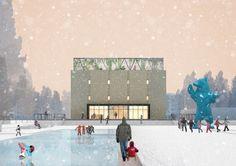Проект редевелопмента кинотеатра «Восход» © Консорциум: НОВОЕ + Практика…