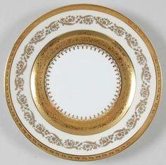 \ Imperiale\  china pattern with ornate gold swirl trim from Ceralene.  sc 1 st  Pinterest & seashell dinnerware | Home Studio™ Shoreline Dinnerware review at ...