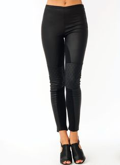 Coated Quilted Pants $39.00