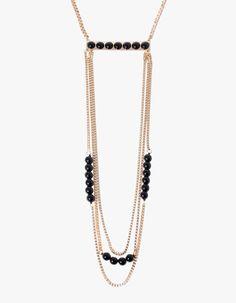 Stradivarius Extra long necklace