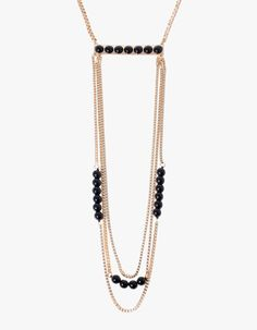 Ultra long ladder necklace