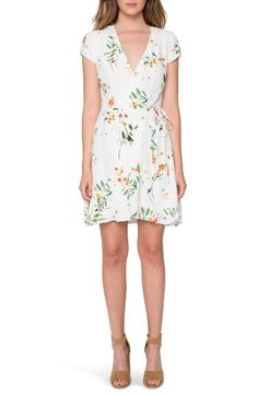 Willow & Clay Willow & Clay Wrap Dress available at #Nordstrom