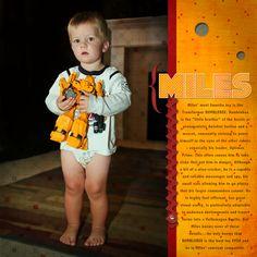 Grandson Miles