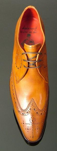 Brilleaux - Wing Gibson Cedar Tan Calf #Zapatos Jeffery West #Shoes