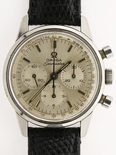 1964 Omega Seamaster chronograph. A boyfriend of mine would need one to take me sailing.