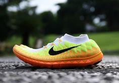 Nike Free 3.0 Flyknit   Volt   Orange